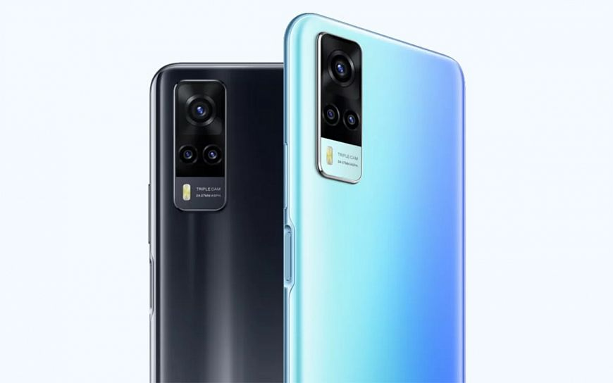 Vivo Y31 — доступный смартфон на Android 11