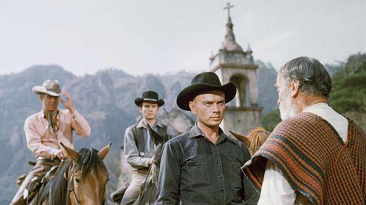 2. «Великолепная семерка» / The Magnificent Seven (1960) – 67 миллионов зрителей