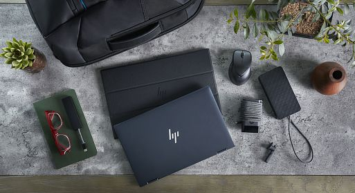 Ноутбук-трансформер HP Elite Dragonfly с поддрежкой 5G