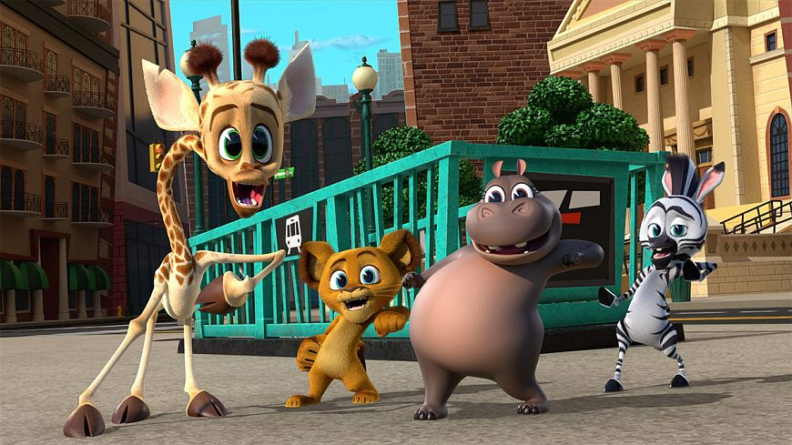 Мадагаскар: Маленькие и дикие / Madagascar: A Little Wild (2020)
